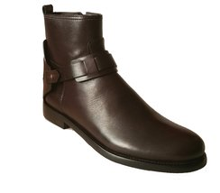 Tory Burch Coconut Brown Derby Leather Ankle Boots (7) - $385.11