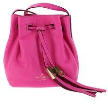 Kate Spade Grey Street Cooper Bucket Bag with Drawstring Closure, Bougai... - £204.96 GBP