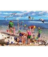 Shell Seekers (used 550 PC jigsaw puzzle) - $10.00