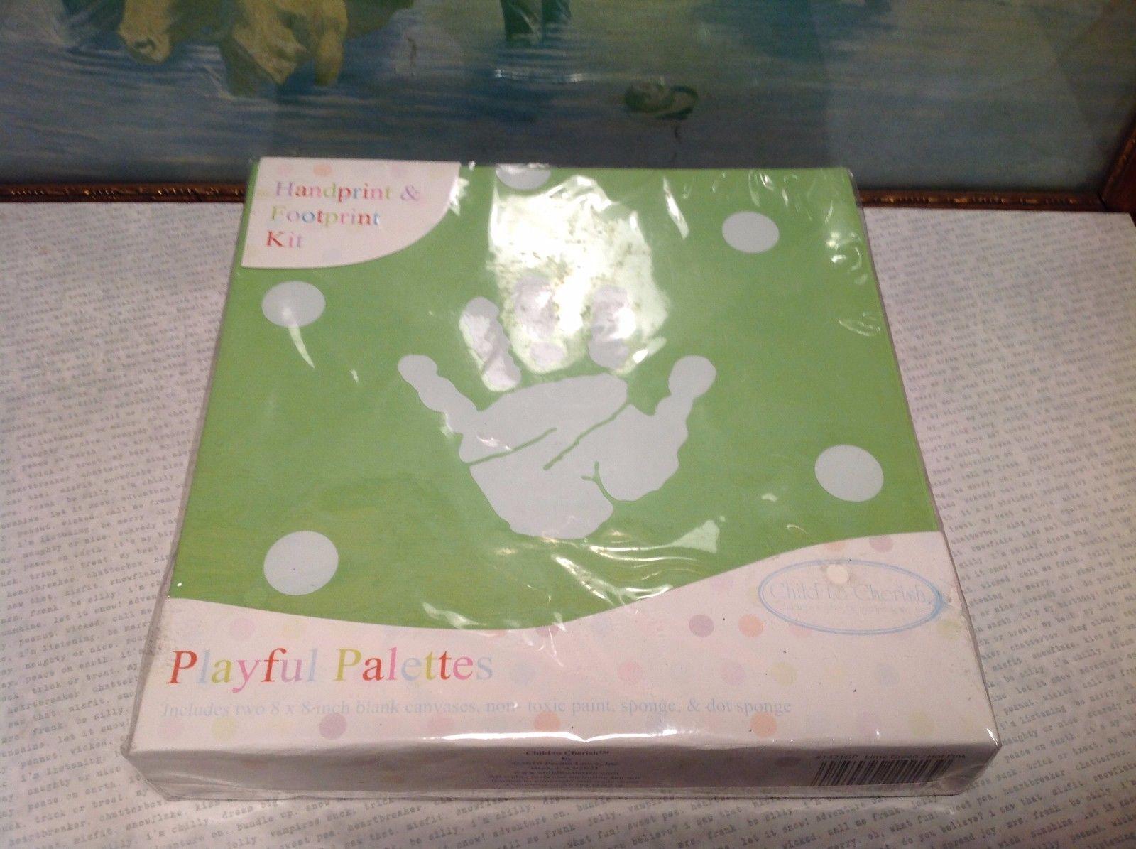 Playful Palettes Child to Cherish Hand and Footprint Kit