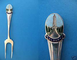 ALBURY New South Wales AUSTRALIA Souvenir Collector Spoon Fork WAR MEMORIAL  - $6.95