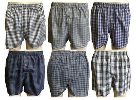 Rodex 6 Pack Men's Boxers shorts Underwear Assorted Color - $12.37+