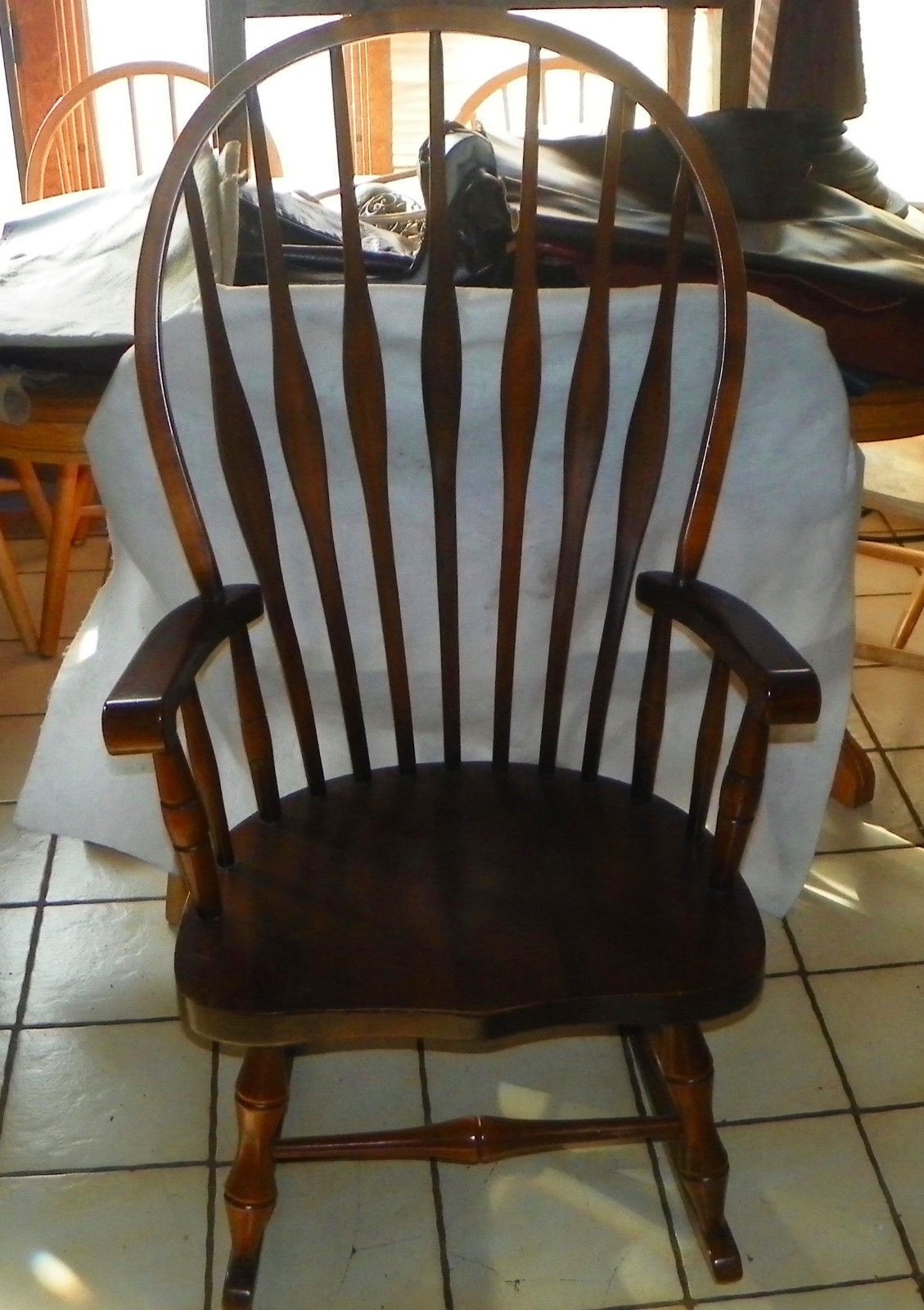57. 57. Pine Virginia House Rocker / Rocking Chair ...