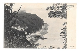 UK Devon England Clovelly from Hobby Drive Fishing Village Vintage UDB Postcard - $4.99