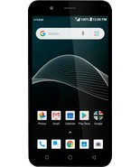 Cricket Wireless - Cricket Vision with 16GB Prepaid Cell Phone - Blue - $49.71