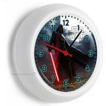 Star Wars Darth Vader Dark Force Lord Wall Clock Man Cave Boys Room Man Cave Art - $21.05
