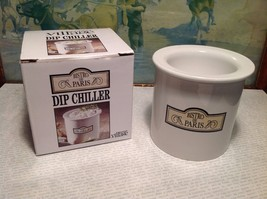 Gourmet Village Bistro de Paris Ceramic Dip Chiller