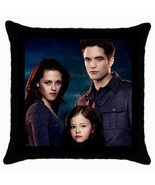 Throw Pillow Case Cushion Cover Twilight Edward Bella Renesmee model 364... - $16.99