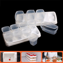 Baby Weaning Food Freezing Cubes Tray Pots Freezer Storage Plastic Conta... - $23.20