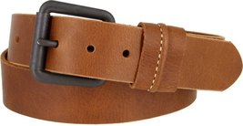 Mens Lejon Dress Belt- Vintage Full Grain Genuine Leather Casual Jean Belt In... - $35.64