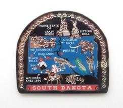 South Dakota State Magnet Souvenir Travel Gift  - $11.95