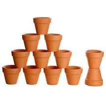 Winlyn 12 Pcs Small Mini Clay Pots 2'' Terracotta Pot Clay Ceramic Potte... - $22.63 CAD