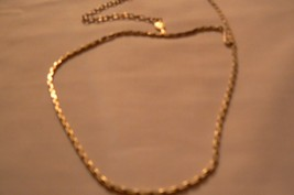 Vintage Sarah Coventry Gold Tone Round Chain Necklace - $11.87