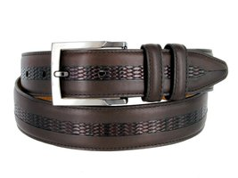Lejon Belt Bayside Full Grain Waxy Glove Leather Dress Belt - $89.10