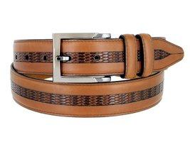 Lejon Belt Bayside Full Grain Waxy Glove Leather Dress Belt - $89.10