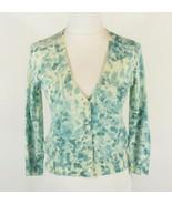 TALBOTS Size S Italian Merino Spring Cardigan S... - $19.99