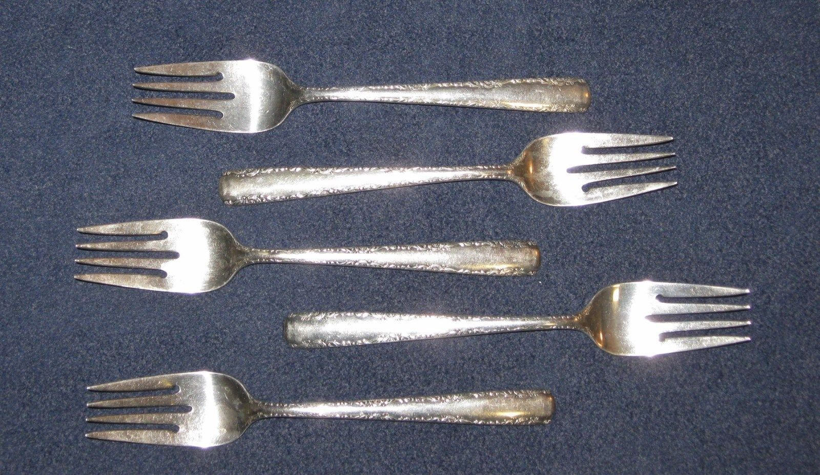 Gorham Sterling Silver-Camellia Pattern-One Salad or Dessert Fork-No Monogram