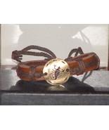 Vintage Style Adjustable Scorpio Cow Leather Br... - $6.93
