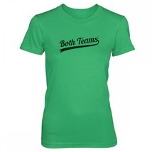 Vine Fresh Tees - Ladies / Juniors Both Teams T-shirt - Ladies / Juniors Medi... - $15.50