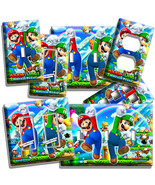 SUPER MARIO AND LUIGI BROS LIGHT SWITCH OUTLET WALL PLATE COVER GAME ROO... - $10.99+