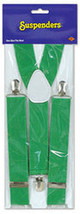 Green Suspenders - $89.88