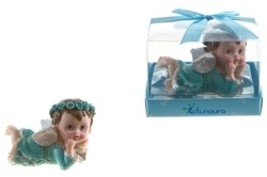Baby Angel Crawling Poly Resin - Blue - $239.52