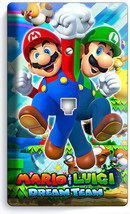 Super Mario And Luigi Bros Phone Telephone Wall Plate Cover Game Room Home Decor - $9.89
