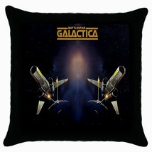 NEW Battles Galactica Black Cushion Cover Throw... - $15.00