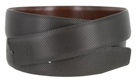 Men's Reversible Genuine Leather Dress Casual Belt Strap with Stippled Design... - $8.86