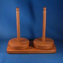 Hickory Twin Yarn Holder - Natural Wax Finish - $75.00