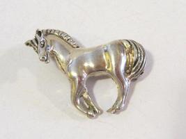 Vintage Sterling silver HORSE Pin/Brooch - $32.00