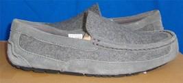 UGG Australia Men's ALDER Wool  Metal Grey Mocassin Size US 13  #1004539... - $1.287,02 MXN