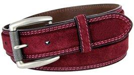 "Fullerton Full Grain Suede Casual Jeans Leather Belt 1-3/8""=35mm 351000-P4139... - $26.68"