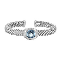 Phillip Gavriel Sterling Silver Blue Topaz Cuff Bracelet - $549.99