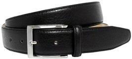Richmond Genuine Leather Dress Belt (Dark Brown, 40) - $16.78