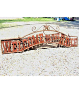 Metal Welcome to the RANCH Sign Wall Entry Gate... - $124.98