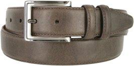 """Lejon 2042-GUN Genuine Italian Calfskin Leather Dress Casual Belt 1-3/8"""" wide... - $16.78"""