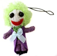 DC Comics Batman The Joker 2.5 Inch String Voodoo Doll Keychain Charm/ F... - $7.64