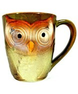 Gibson Home Owl City Coffee Mug Embossed Owl Shape Mug Elite Couture 4 1... - $10.40