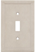 Somerset Collection Somerset 1-Gang Sand Single Toggle Wall Plate - $10.01