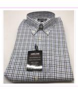 Kirkland Signature Men's Traditional Fit Twill Sport Shirt, Long Sleeve,... - $23.10