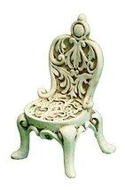 Ganz Collectible Fairy Garden 3.25 Inch Patio Style Chair - $4.47