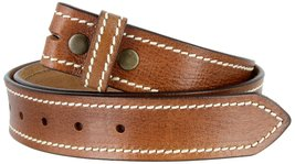 One Piece Pebbled Genuine Full Grain Casual Jeans Leather Belt Strap 38mm wid... - $15.79