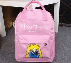 Sailor Moon Usagi Tsukino Lovely Cat Luna Candy Colorful Trendy Backpack - $29.99