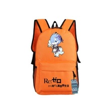Re Zero Rem Maid Cute Blue Hair Serve Food Chibi Style Cool Backpack - $49.99