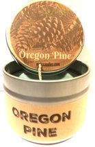 Oregon Pine 4oz All Natural Novelty Tin Soy Candle, Take It Any Where Ap... - €5,24 EUR