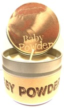 Baby Powder 4oz All Natural Novelty Tin Soy Candle, Take It Any Where Ap... - €5,24 EUR