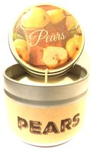 Pears 4oz All Natural Novelty Tin Soy Candle, Take It Any Where Approxim... - €5,45 EUR