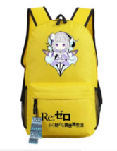 Re Zero Emilia Half Elf Magic Fly Chibi Style Awesome Design Backpack - $49.99