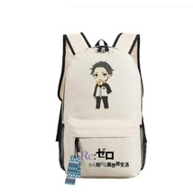 Re Zero Subaru Natsuki Energy Cheer Chibi Style Awesome Design Backpack - $49.99